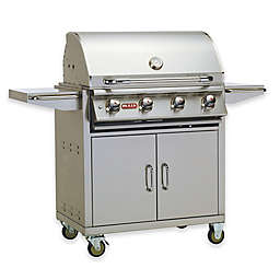 "Bull Grills Lonestar ""Select"" 30-Inch Propane Grill with Cart"