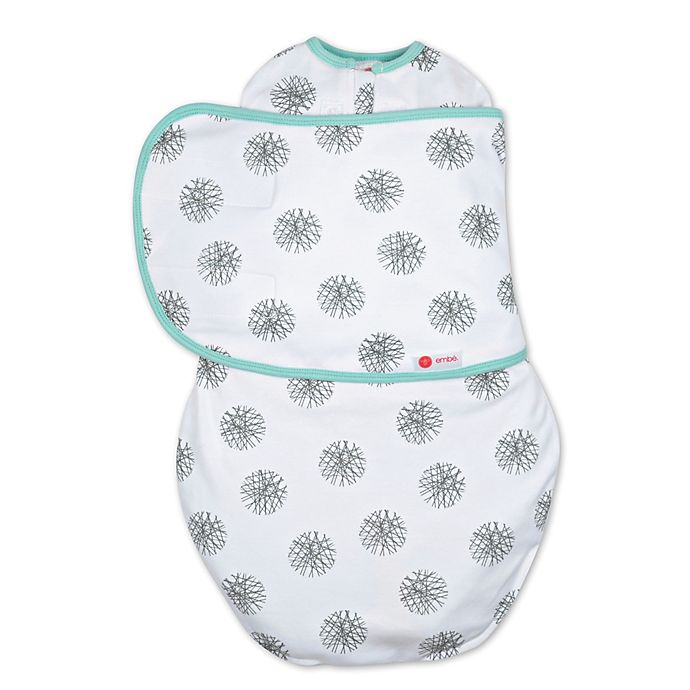 Alternate image 1 for Embe® Circle Classic 2-Way Swaddle™ in Mint