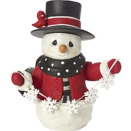 Precious Moments® Christmases Be White Snowman Figurine