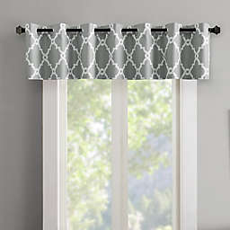 Madison Park Merritt Grommet Top Room Darkening Window Valance