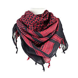 Red Rock Outdoor Gear Tactical Shemagh Head Wrap in Red/Black