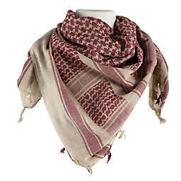 Red Rock Outdoor Gear Tactical Shemagh Head Wrap in Tan/Brown