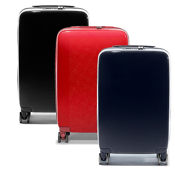 cc96c2c0b Raden A22 Smart 22-Inch Carry On Spinner Suitcase in Gloss | Bed ...