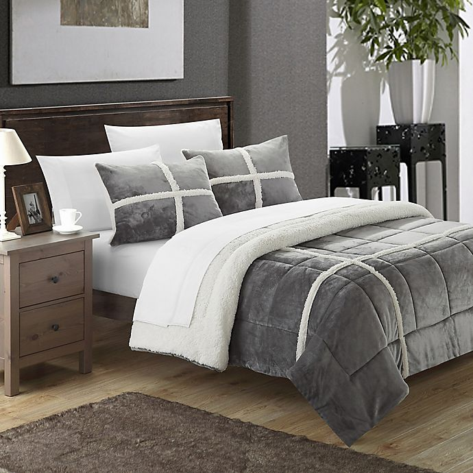 Alternate image 1 for Chic Home Camille 2-Piece Twin XL Comforter Set