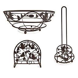 Home Basics® Bird & Flower Kitchen Accessories Collection