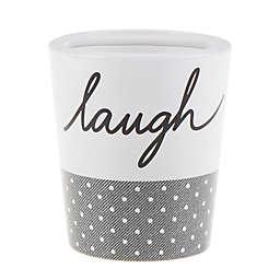 ED Ellen DeGeneres Words Toothbrush Holder in White/Grey