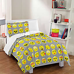 Dream Factory Emoji Reversible Comforter Set