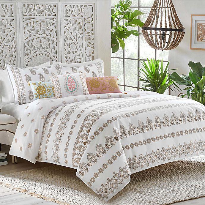 Alternate image 1 for Dena™ Home Marielle Reversible Duvet Cover Set
