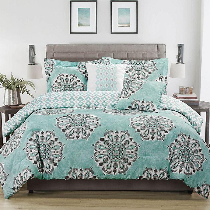 Alternate image 1 for Studio 17 Daniella Reversible Comforter Set