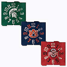 Collegiate  Vintage Square Wall Clock