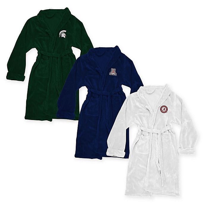 Alternate image 1 for Collegiate Silk Touch Large/Extra Large Bathrobe