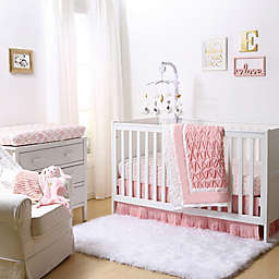 The Peanutshell™ Crib Bedding Collection in Coral