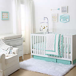 The Peanutshell™ Crib Bedding Collection in Turquoise