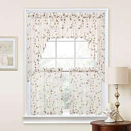 Caspia Window Curtain Panels and Valance