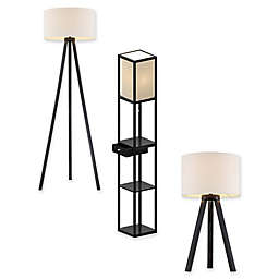 Adesso® Anderson Lamp Collection in Black