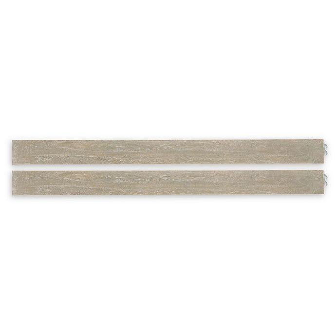 Alternate image 1 for ED Ellen DeGeneres Oakdell Full Size Bed Rails in Sandstone