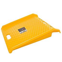 Stalwart Portable Polyethylene Ramp in Yellow