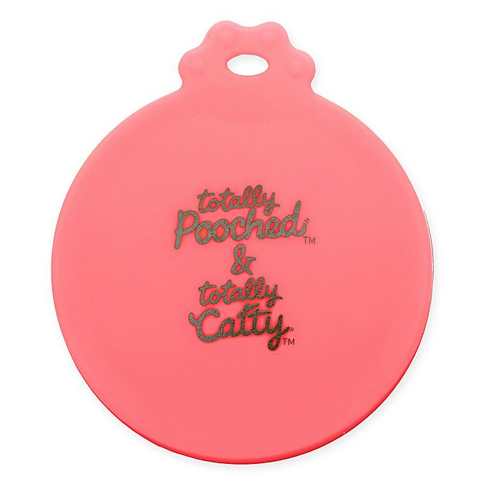 Alternate image 1 for Totally Pooched™ Pet Can Cover in Coral