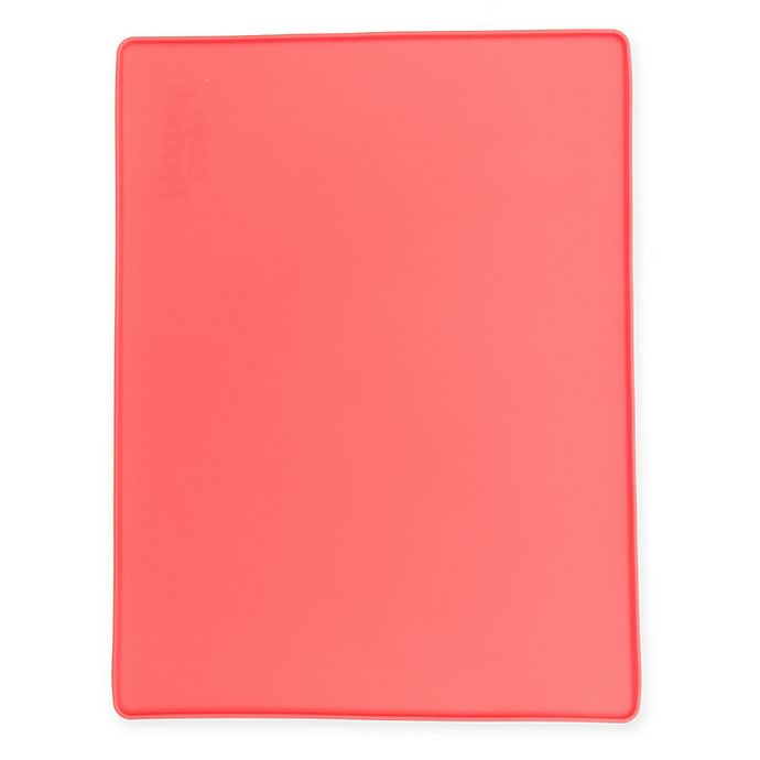 Alternate image 1 for Totally Pooched™ Silicone Food Mat in Coral