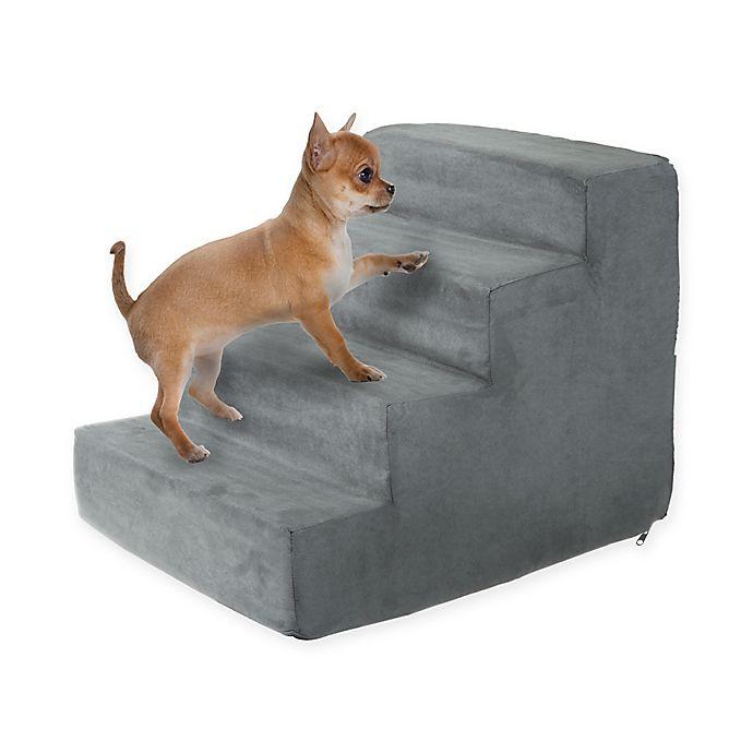 Alternate image 1 for PETMAKER 4-Step Foam Pet Stairs