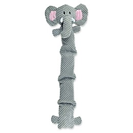 Bounce & Pounce Corduroy Safari Elephant with Four-Squeaker Body