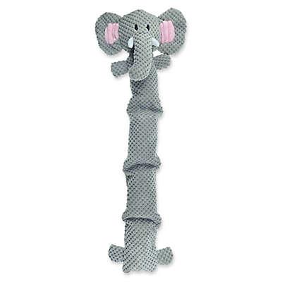 Bounce & Pounce Corduroy Safari Elephant with Four-Squeaker Body
