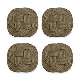 Nautical Jute Coasters (Set of 4)