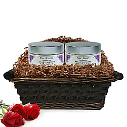 Pure Energy Apothecary Supreme Sensation Lavender Gift Set with Basket