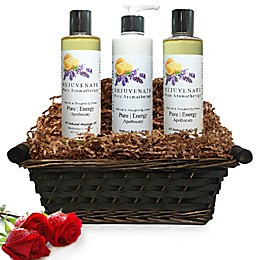 Pure Energy Apothecary Moisture Madness Pure Aromatherapy Gift Set with Basket