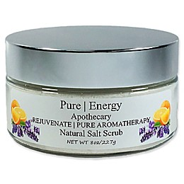 Pure Energy Apothecary 8 oz. Rejuvenate Pure Aromatherapy Sea Salt Scrub