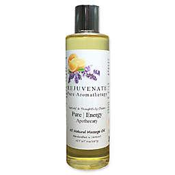 Pure Energy Apothecary 8 oz. Rejuvenate Pure Aromatherapy Massage Oil