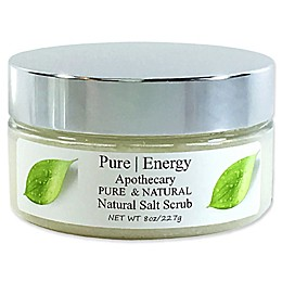 Pure Energy Apothecary Pure and Natural 8 oz. Unscented Salt Scrub