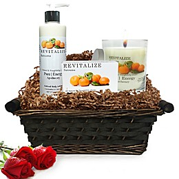 Pure Energy Apothecary Nourishing Balance Satsuma Gift Set with Basket