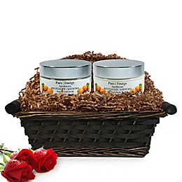 Pure Energy Apothecary Supreme Sensation Satsuma Gift Set with Basket
