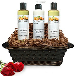 Pure Energy Apothecary Moisture Madness Satsuma Gift Set with Basket