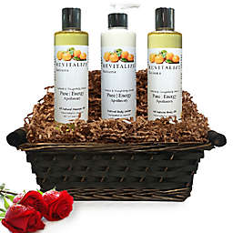 Pure Energy Apothecary Moisture Madness Satsuma Gift Set with Basket