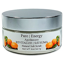 Pure Energy Apothecary 8 oz. Satsuma Sea Salt Scrub
