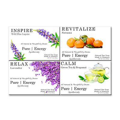 Pure Energy Apothecary Spa Collection 5 oz. Soap Bars (Set of 4)