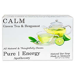 Pure Energy Apothecary 5 oz. Green Tea and Bergamot Soap Bar