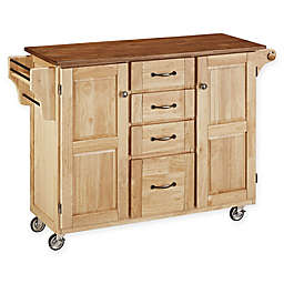 Create-A-Cart Kitchen Cart in Oak