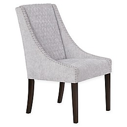 Madison Park Sophia Dining Chairs in Grey/Silver (Set of 2)