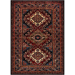 Surya Uthaca Rug in Dark Red
