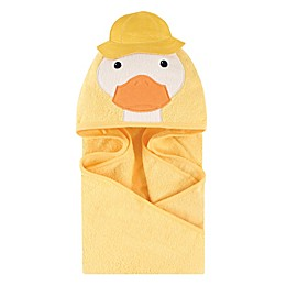 Little Treasures® Duck Hooded Towel in Yellow