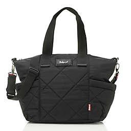 Babymel™ Evie Quilted Diaper Bag in Black