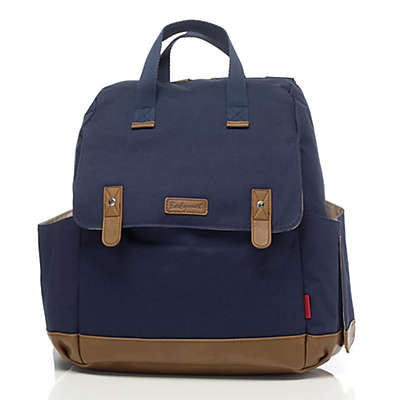 BabyMel™ Robyn Convertible Backpack Diaper Bag in Navy