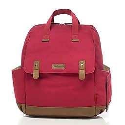 BabyMel™ Robyn Convertible Backpack Diaper Bag in Red