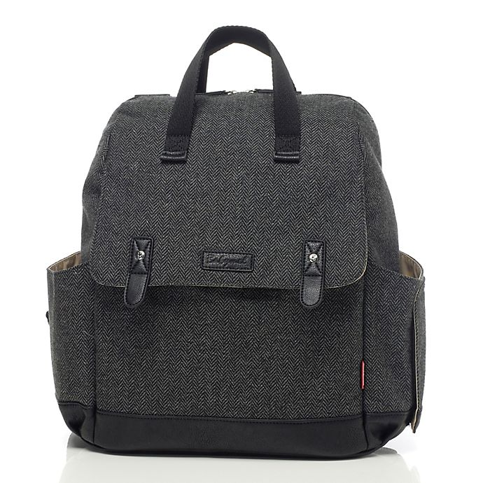 Alternate image 1 for BabyMel™ Robyn Convertible Backpack Diaper Bag in Grey