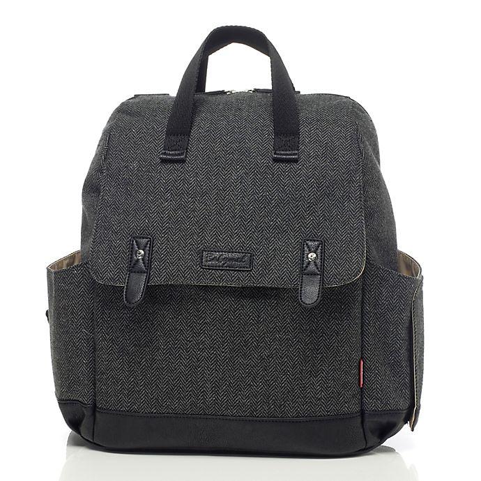 Alternate image 1 for BabyMel™ Robyn Convertible Backpack Diaper Bag in Grey