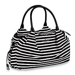 kate spade new york Watson Lane Stevie Baby Bag in Black/Cream
