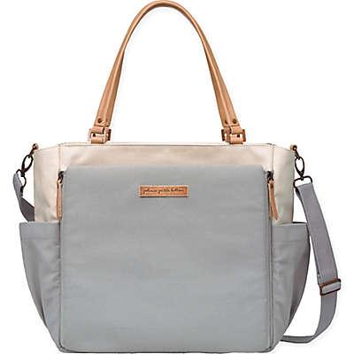 Petunia Pickle Bottom® City Carryall Diaper Bag in Birch/Stone